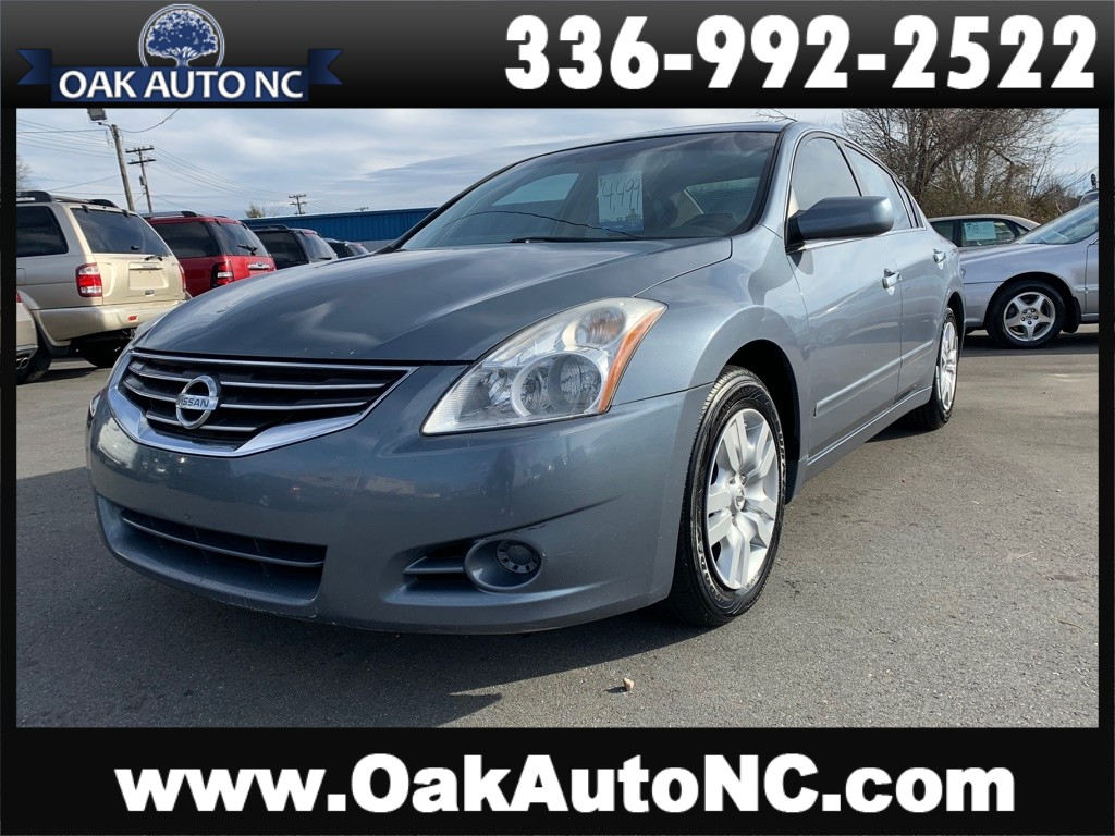 2010 NISSAN ALTIMA BASE-NO ACCIDENTS for sale by dealer