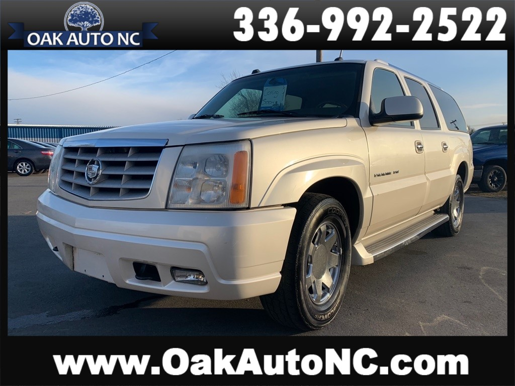 2005 CADILLAC ESCALADE ESV NO ACCIDENTS SO. OWNED for sale by dealer
