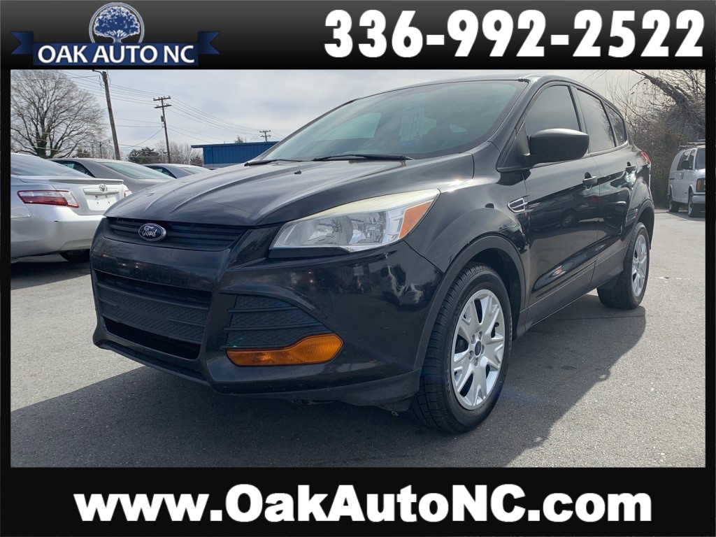 2014 FORD ESCAPE S NO ACCIDENTS for sale by dealer