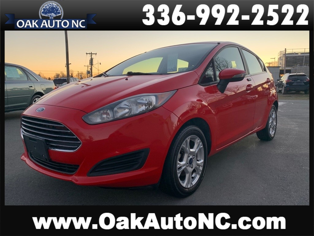 2015 FORD FIESTA SE NO ACCIDENTS 1 OWNER NC OWNED for sale by dealer