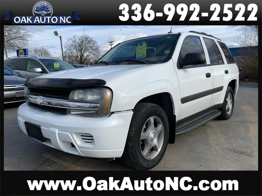 2005 CHEVROLET TRAILBLAZER LS COMING SOON for sale by dealer