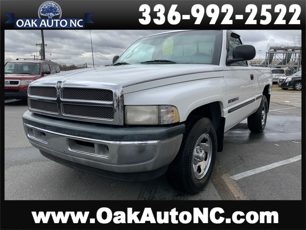 1998 DODGE RAM 1500 2 NC OWNERS for sale by dealer