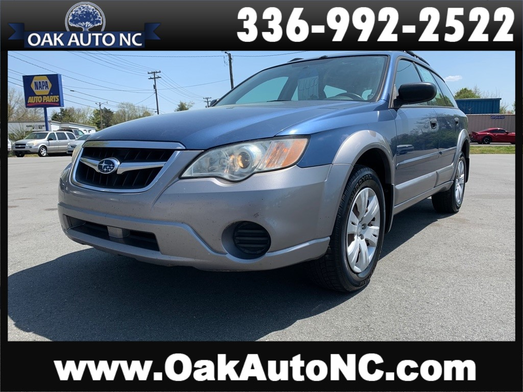 2009 SUBARU OUTBACK NC OWNED for sale by dealer