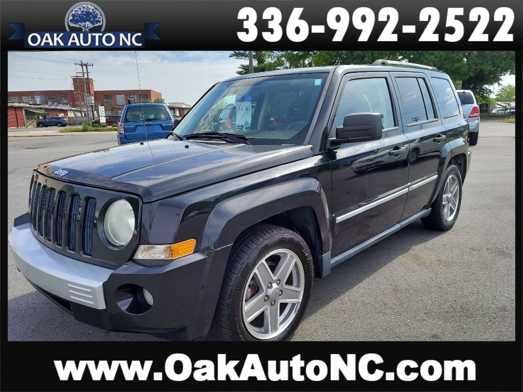 2008 JEEP PATRIOT LIMITED for sale by dealer