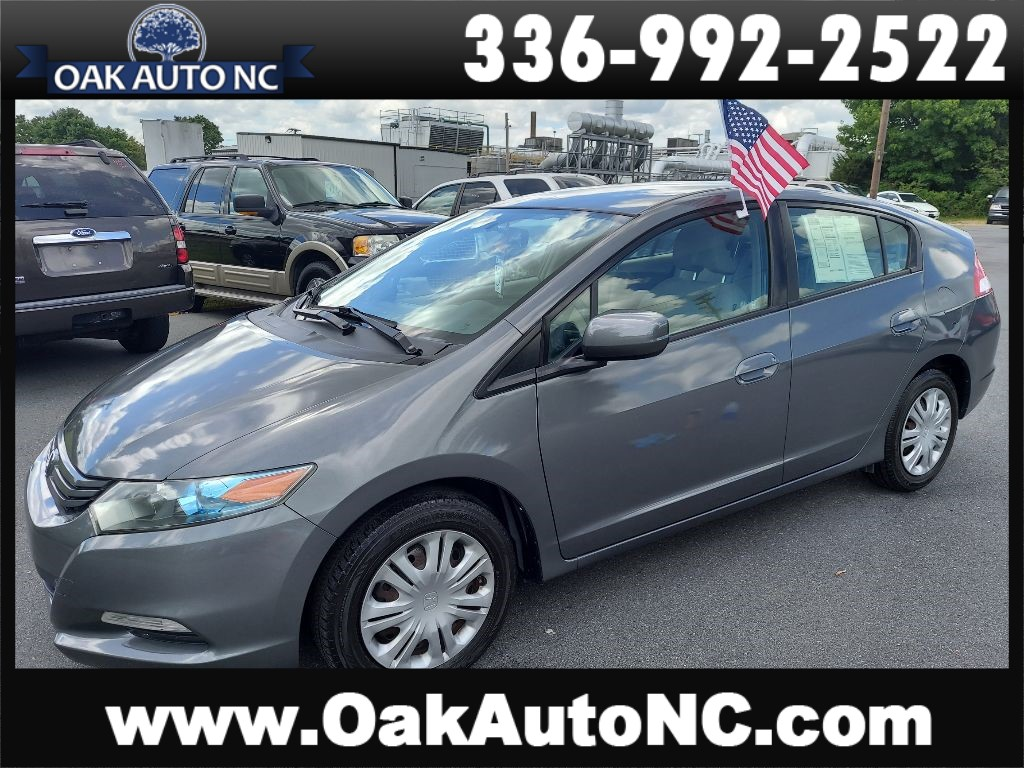 2010 HONDA INSIGHT LX 2 OWNERS NO ACCIDENTS for sale by dealer