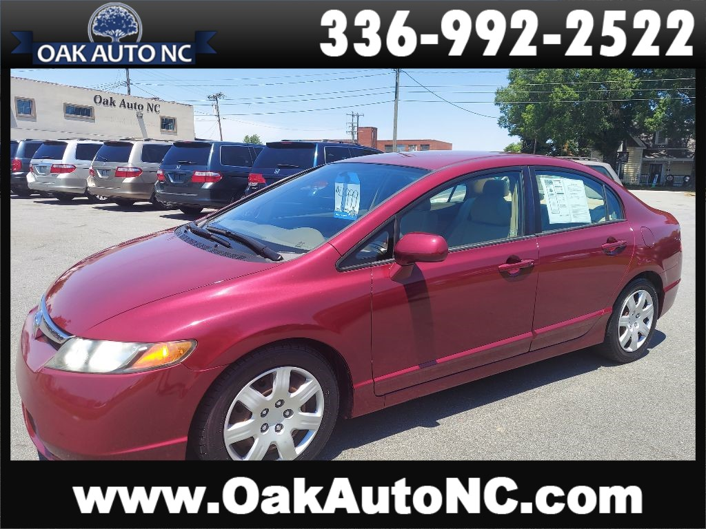 2007 HONDA CIVIC LX 1 NC OWNER 46 SERVICE RECORDS! for sale by dealer