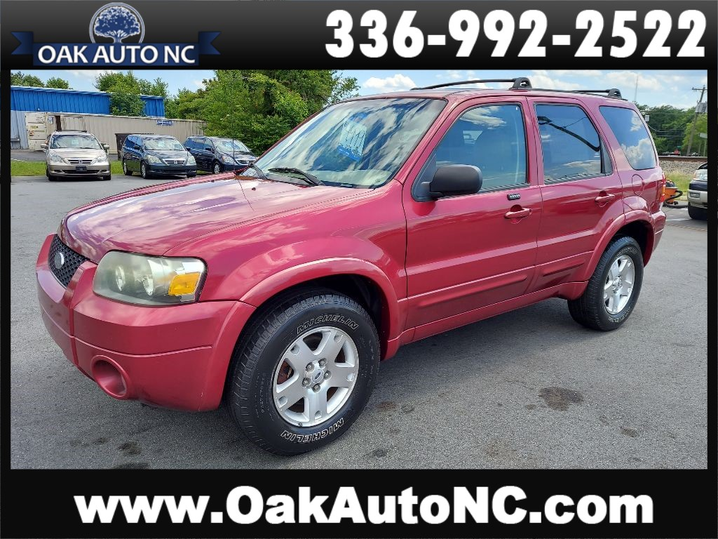 2006 FORD ESCAPE LIMITED NO ACCIDENTS 1 NC OWNER for sale by dealer