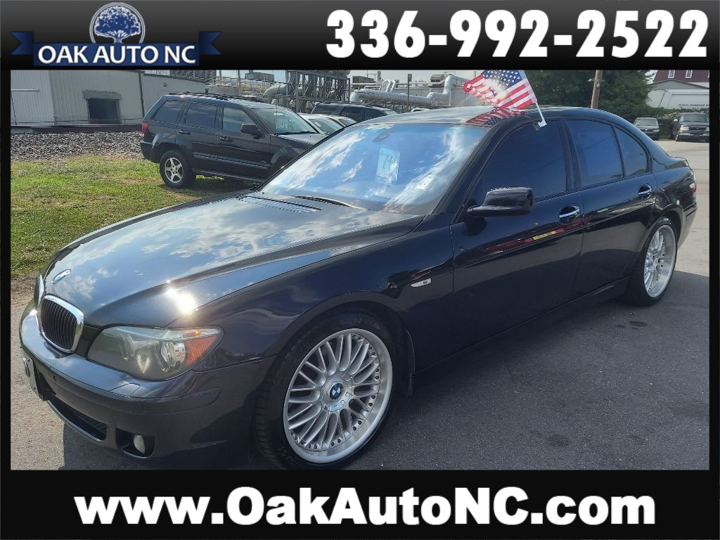 2008 BMW 750 I NO ACCIDEN TS 42 SVC RECORDS!! for sale by dealer