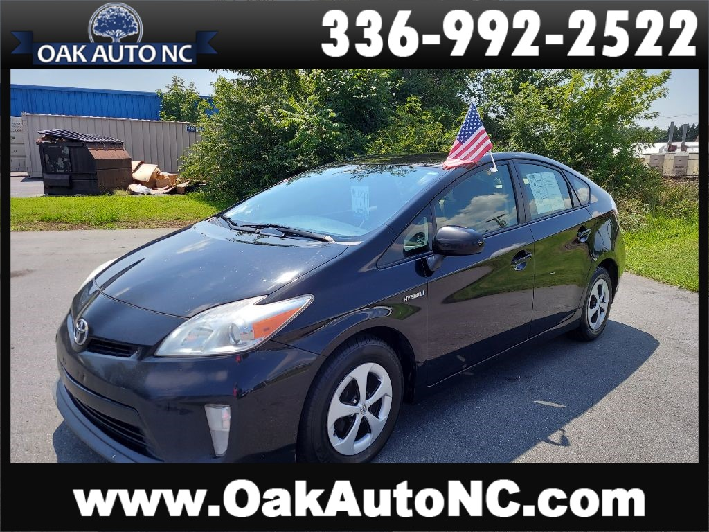 2012 TOYOTA PRIUS 1 OWNER for sale by dealer