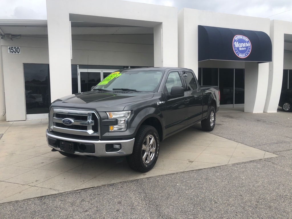 2016 FORD F150 SUPERCREW for sale by dealer