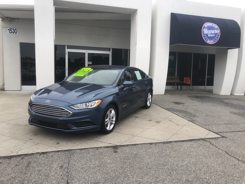 2018 FORD FUSION S HYBRID for sale by dealer