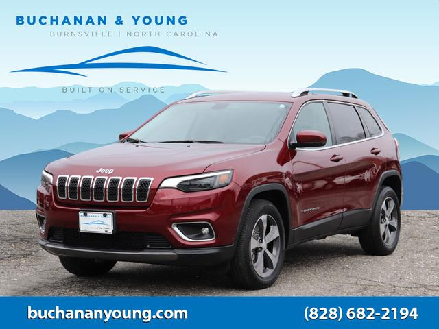 2019 Jeep Cherokee Limited for sale by dealer