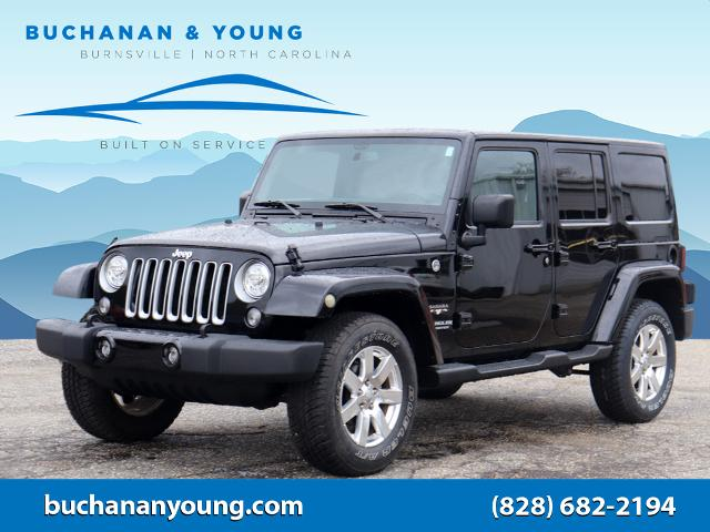 2017 Jeep Wrangler Unlimited Sahara for sale by dealer