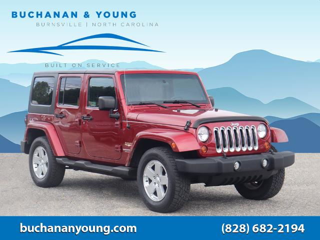 2012 Jeep Wrangler Unlimited Sahara for sale by dealer