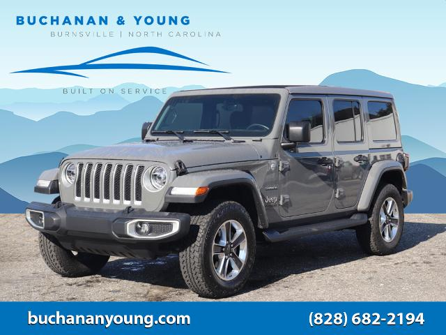 2020 Jeep Wrangler Unlimited Sahara for sale by dealer