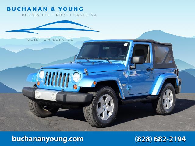 2010 Jeep Wrangler Sahara for sale by dealer