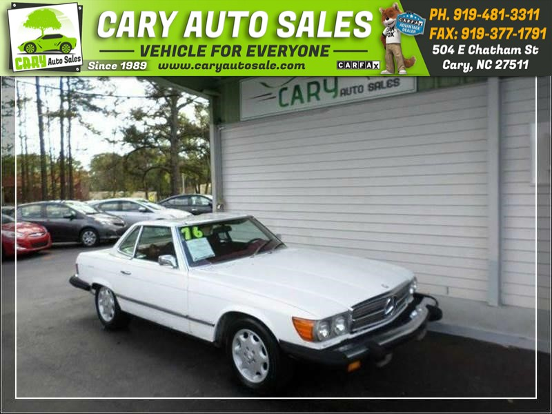 1976 MERCEDES-BENZ 450 SL for sale by dealer