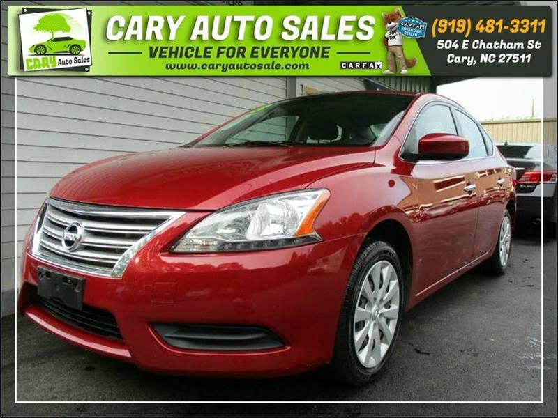 2013 NISSAN SENTRA SV for sale by dealer