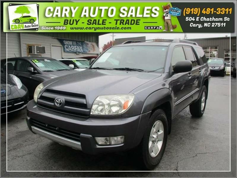 2004 TOYOTA 4RUNNER SR5 for sale by dealer