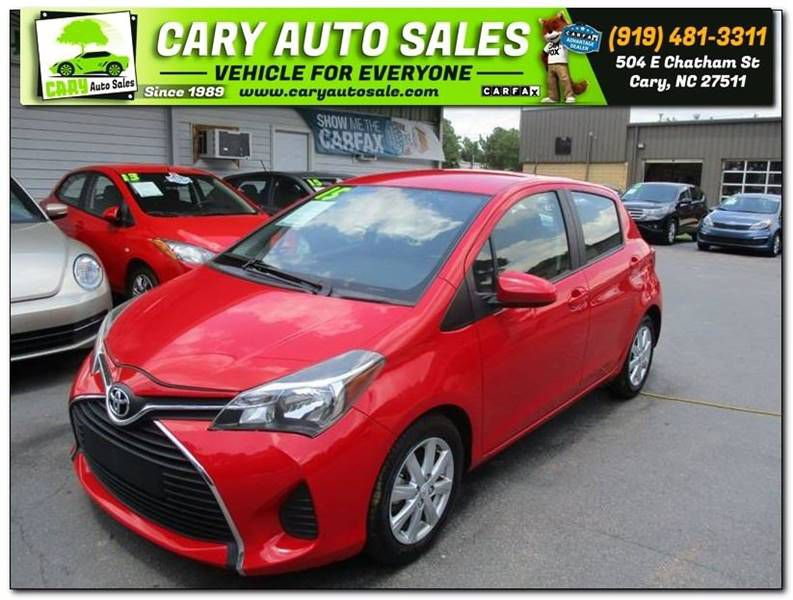 2015 TOYOTA YARIS for sale by dealer