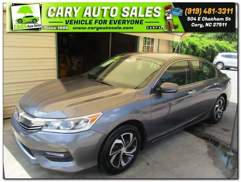 2016 HONDA ACCORD LX for sale by dealer