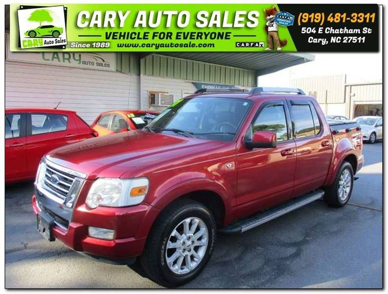 2007 FORD EXPLORER SPORT LIMITED Cary NC
