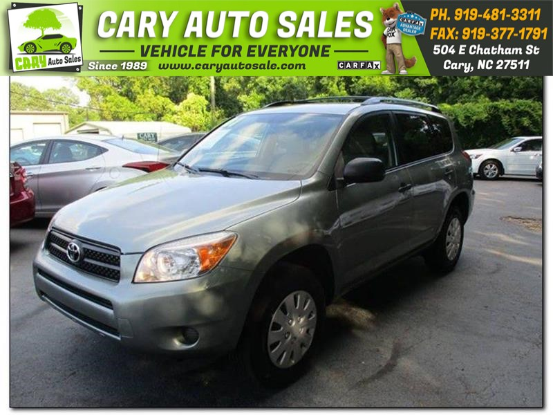 2007 TOYOTA RAV4 for sale by dealer