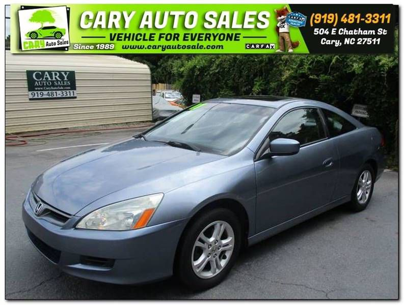 2007 HONDA ACCORD EX-L 2dr Coupe Cary NC