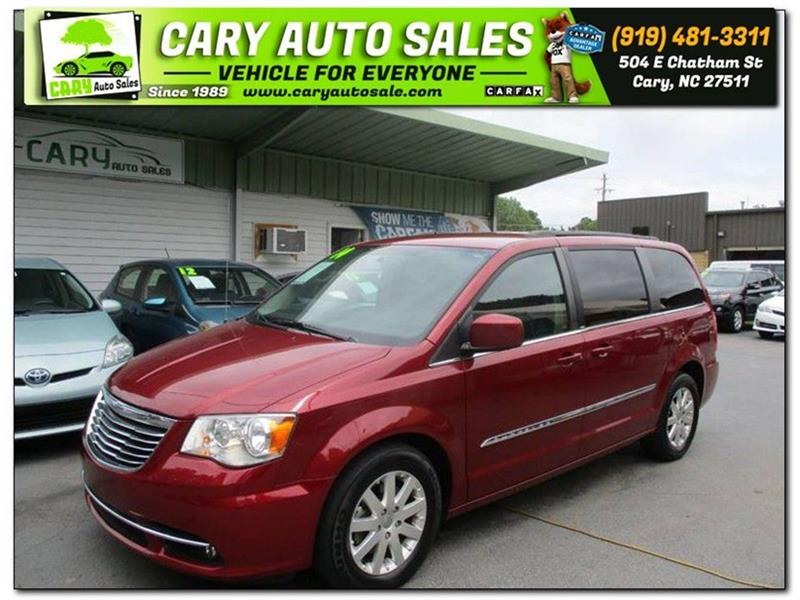 2014 CHRYSLER TOWN & COUNTRY TOURING Cary NC