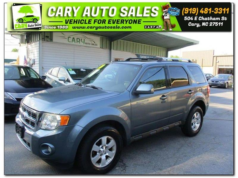 2010 FORD ESCAPE LIMITED Cary NC