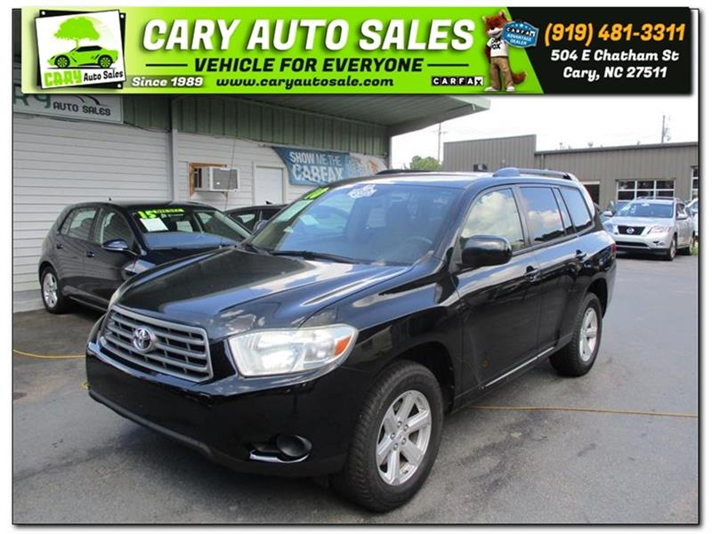 2010 TOYOTA HIGHLANDER for sale by dealer