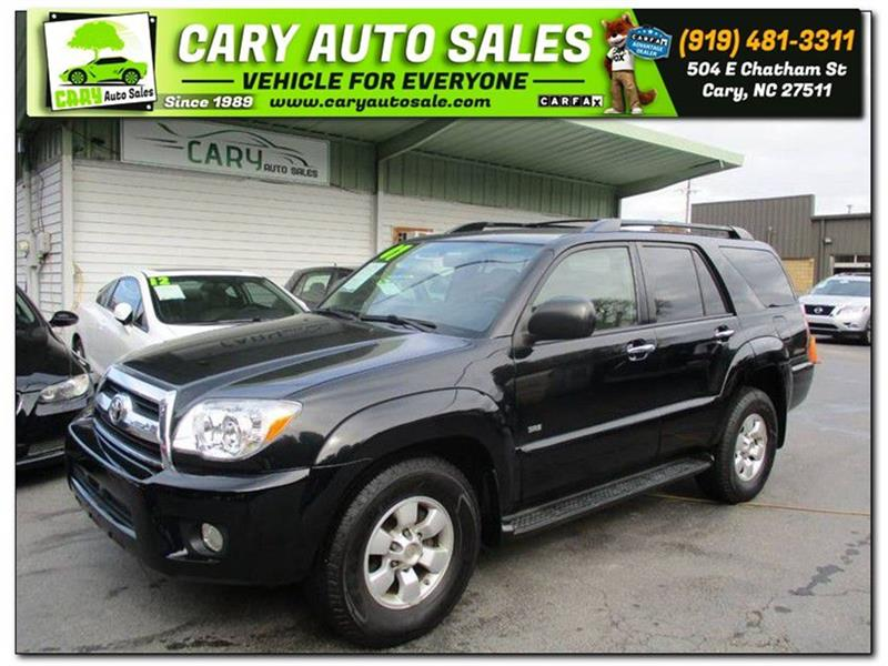 2007 TOYOTA 4RUNNER SR5 for sale by dealer