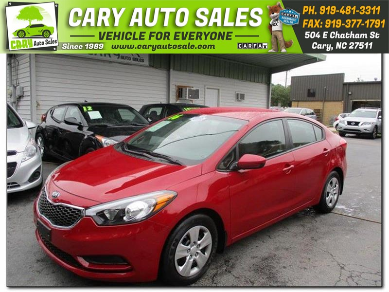 2016 KIA FORTE LX for sale by dealer