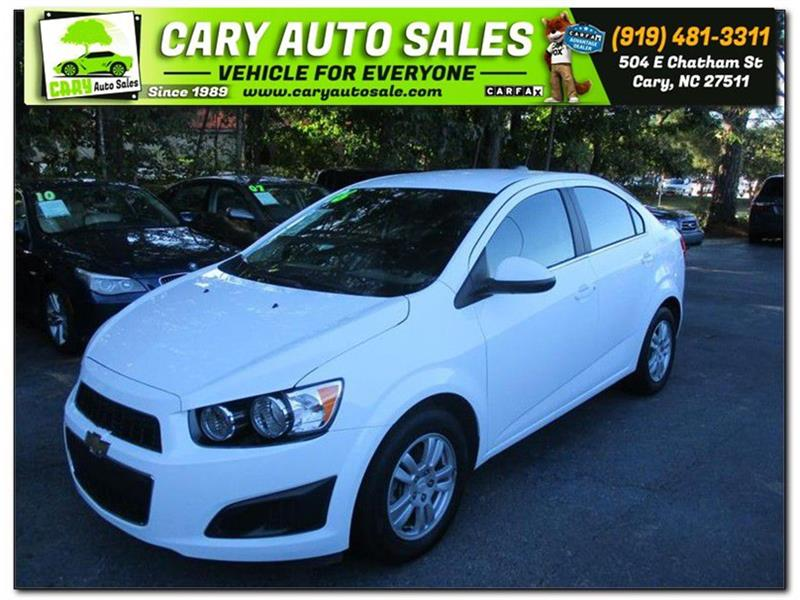2016 CHEVROLET SONIC LT for sale by dealer