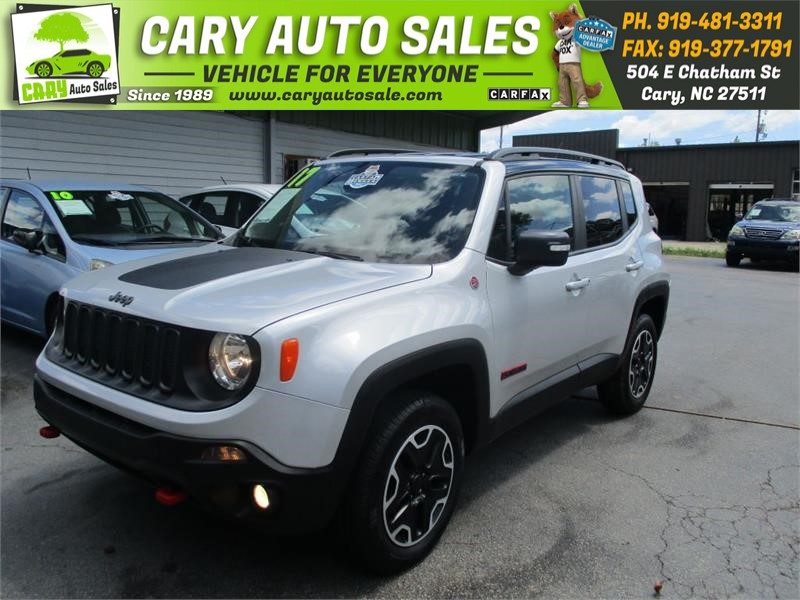2017 JEEP RENEGADE TRAILHAWK for sale by dealer