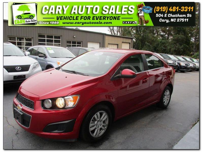 2015 CHEVROLET SONIC LT for sale by dealer