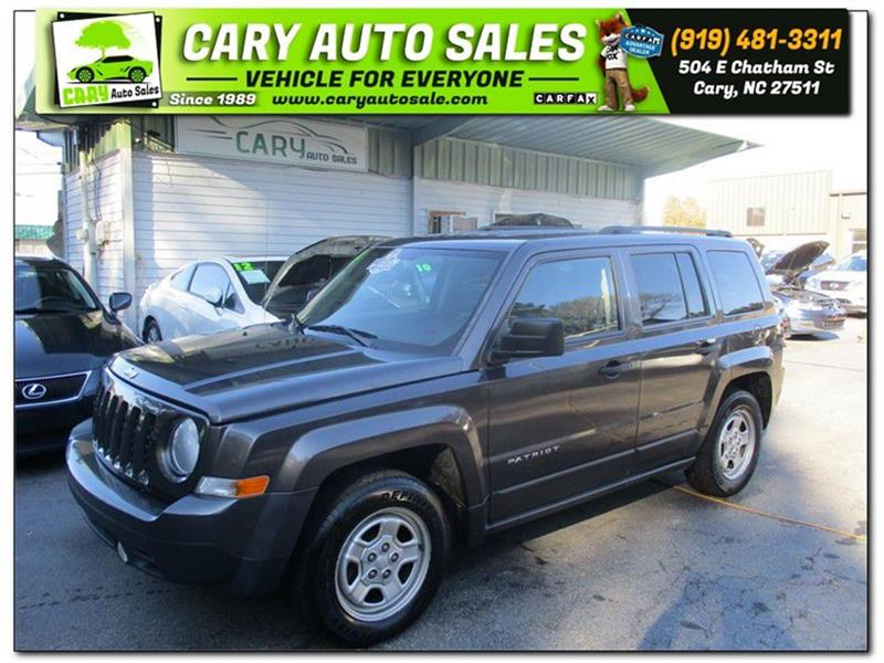 2014 JEEP PATRIOT SPORT Cary NC