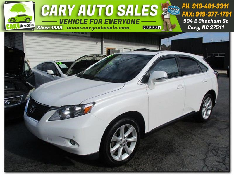 LEXUS RX350 Comfort Package in Cary