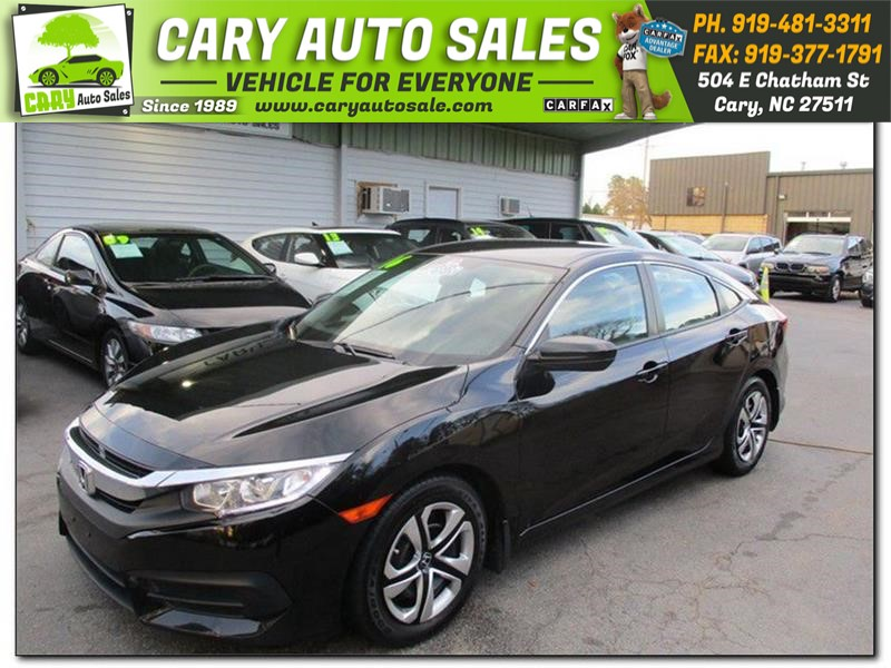 2016 HONDA CIVIC LX for sale by dealer