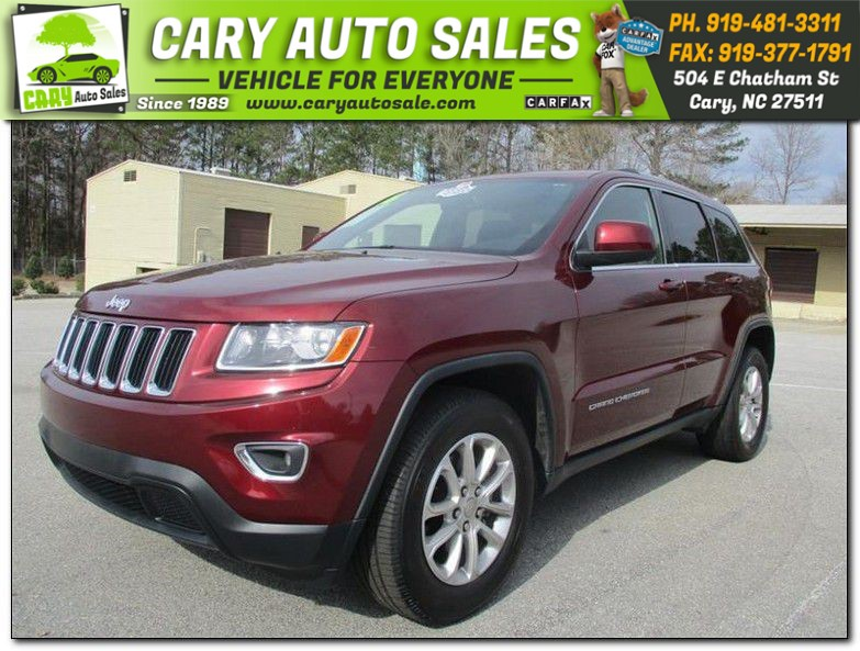 2016 JEEP GRAND CHEROKEE LAREDO for sale by dealer