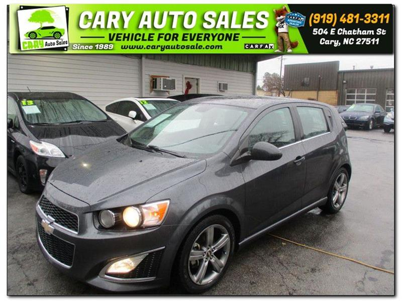 2013 CHEVROLET SONIC RS Cary NC