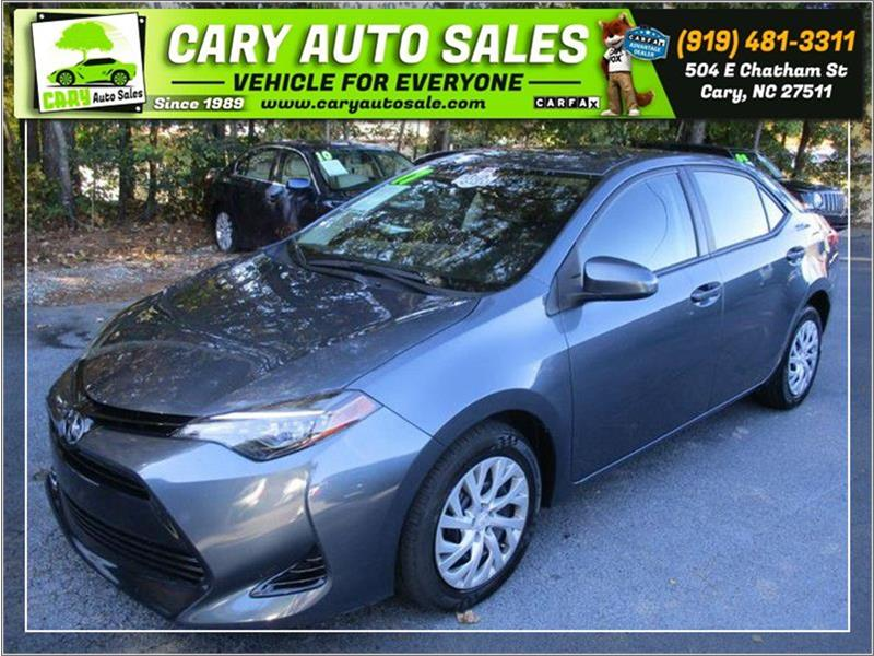 TOYOTA COROLLA LE in Cary