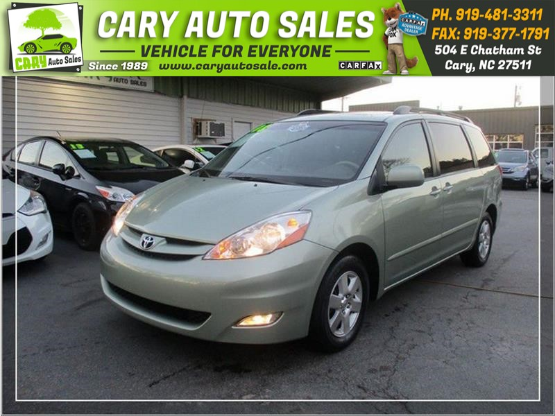 2008 TOYOTA SIENNA XLE for sale by dealer