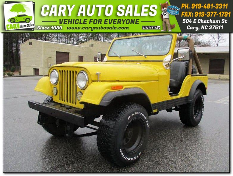 1980 JEEP CJ5 for sale by dealer