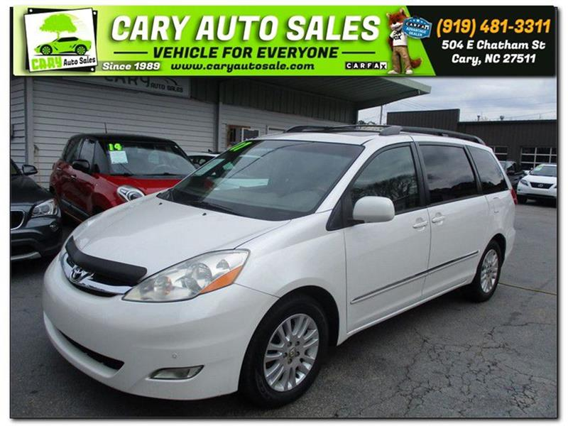 2007 TOYOTA SIENNA XLE LIMITED for sale by dealer