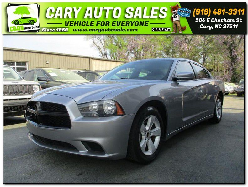 2013 DODGE CHARGER SE for sale by dealer