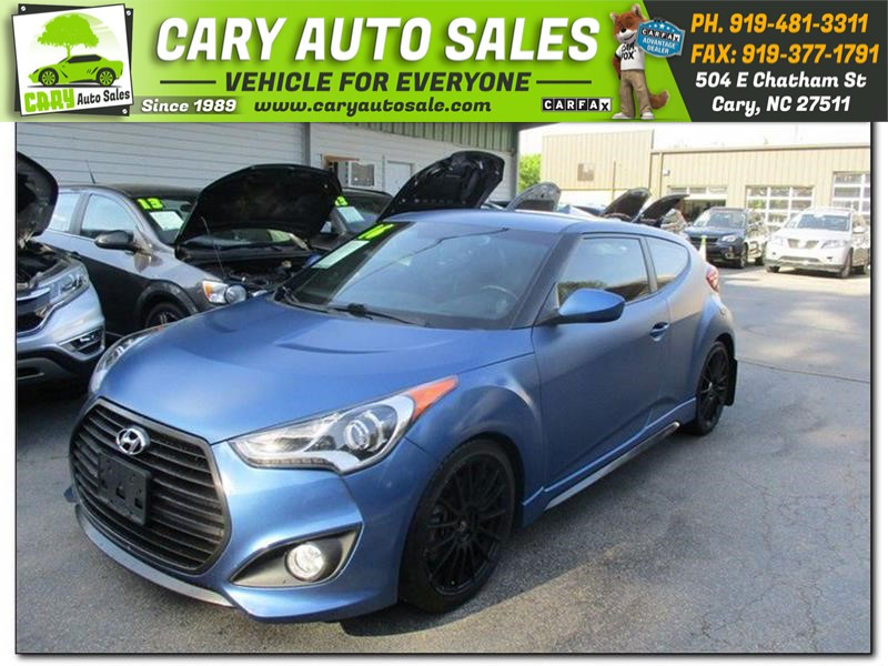 HYUNDAI VELOSTER Turbo Rally Edition in Cary