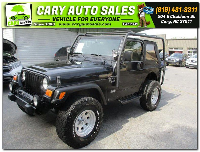 2001 JEEP WRANGLER / TJ SPORT for sale by dealer