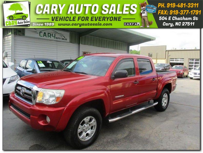 2010 TOYOTA TACOMA DOUBLE CAB PRERUNNER for sale by dealer