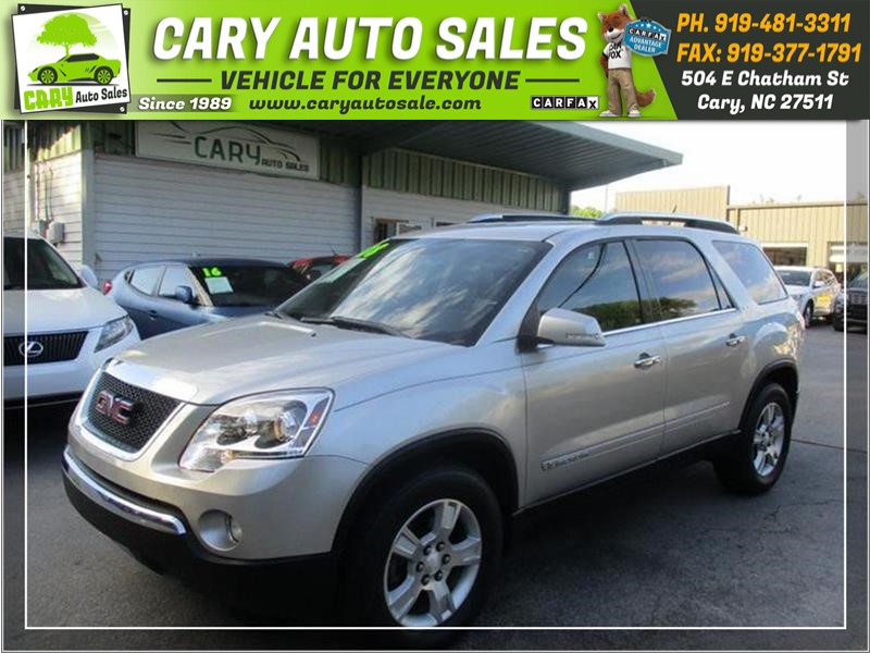 2008 GMC ACADIA SLT-1 for sale by dealer
